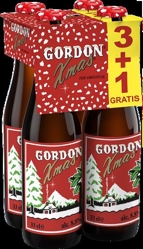 Afbeeldingen van GORDON XMAS BEER (3+1 GRATIS)X33CL